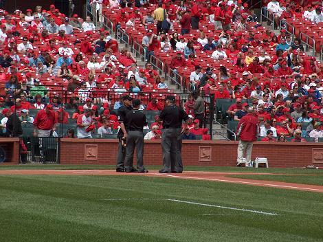 Umpire gathering