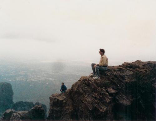 Superstition Mountains peak