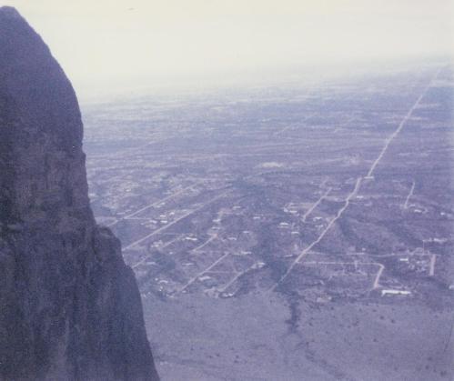 Superstition Mountains panarama