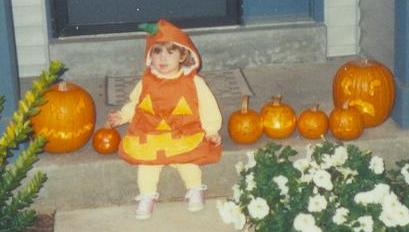 1992 Halloween jack-o-lanterns