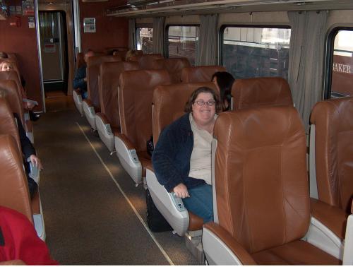 Amtrak business class