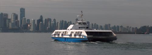 SeaBus from North Vancouver